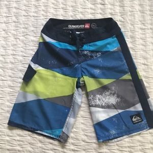 Boys' Quiksilver swim trunks